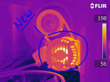 Sketch on FLIR T-Series Infrared Camera